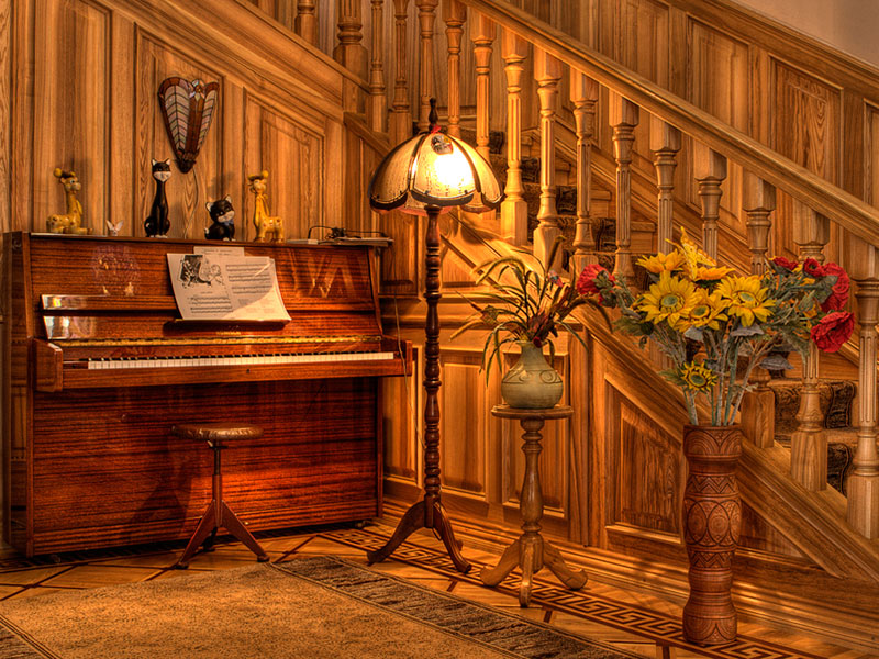 Деревянный-декор-со-стеновой-панелью-из-ясеня