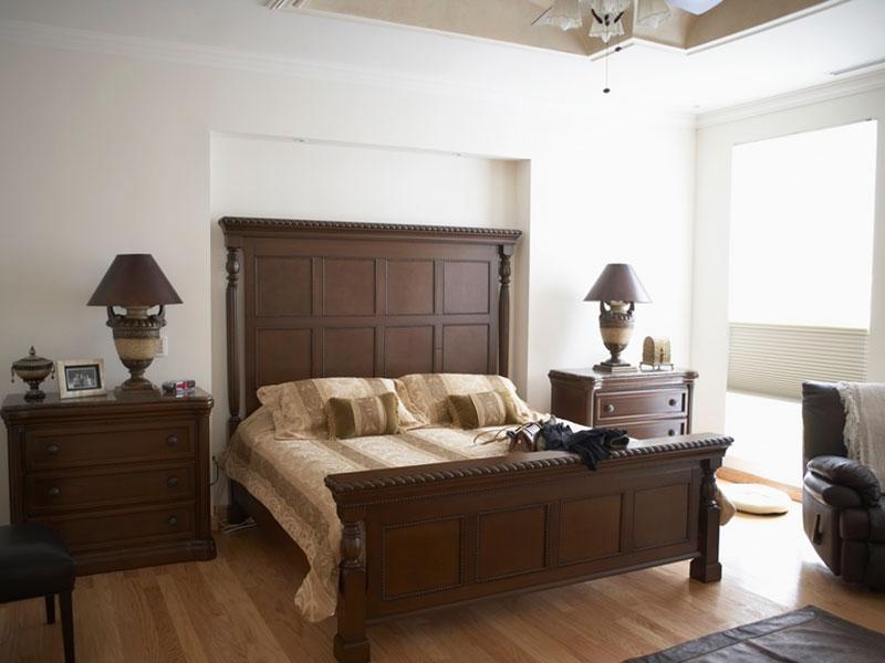 Спальня-из-массива-дуба-в-классическом-стиле
