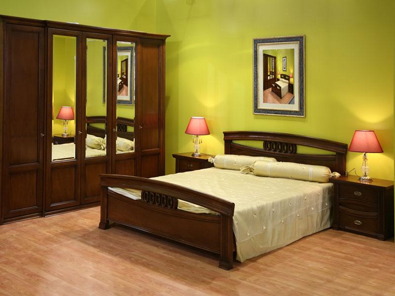 спальня-из-ясеня-шоколадного-цвета