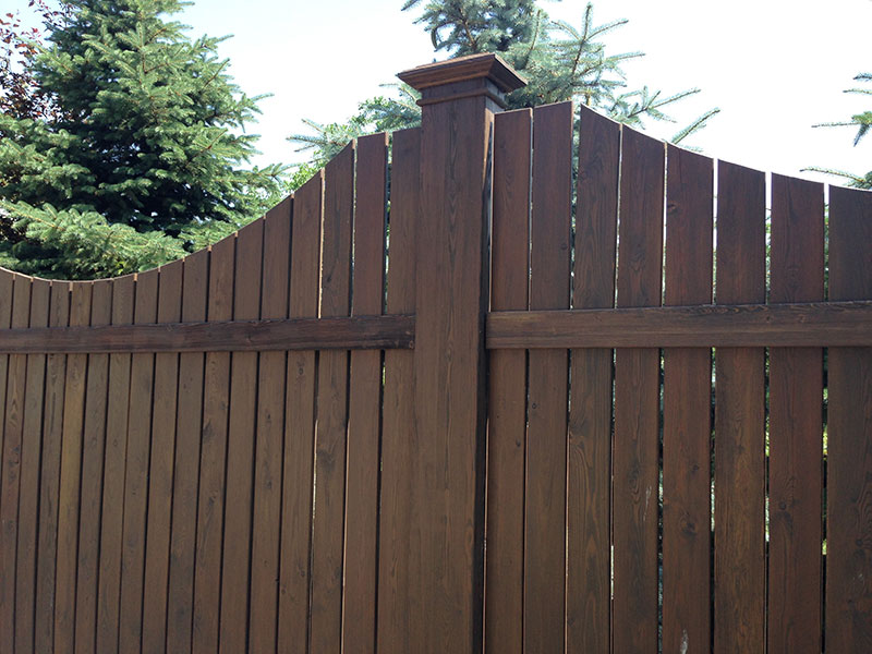 Забор-из-лиственницы