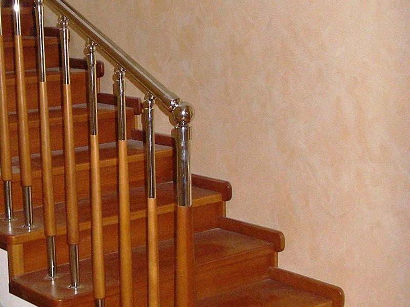 отделка-лестницы-деревом