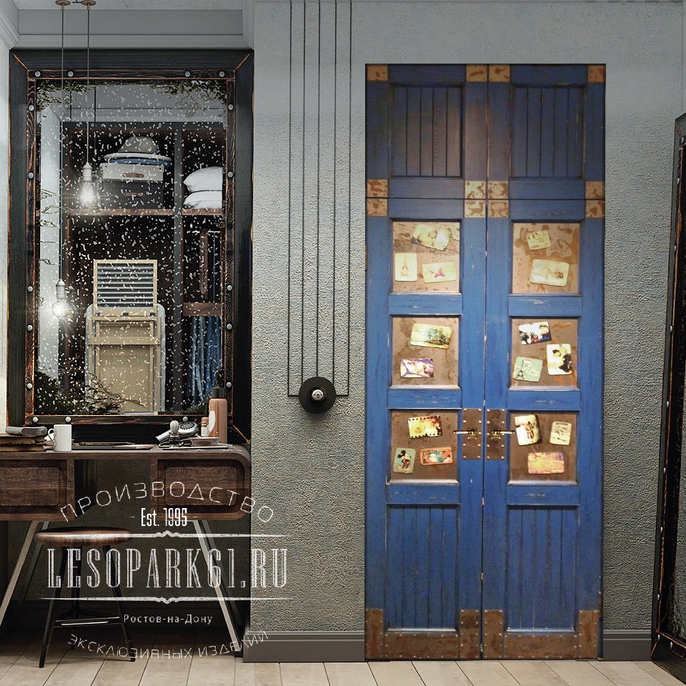 Двери в стиле Loft & Industrial
